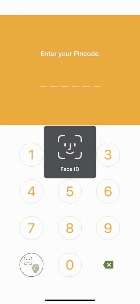 Face-ID Login Application Jarviz